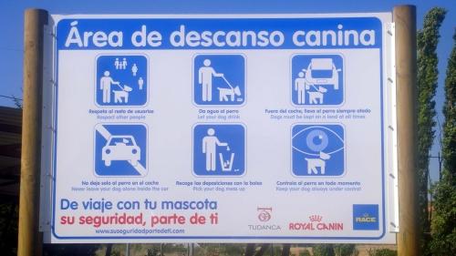 El area de descanso para perros de Tudanca es la primera de España (y esperemos que no sea la única)