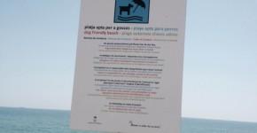 Playa de la Platjola en Alcanar para perros