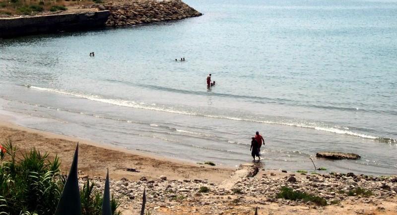 Cala Vallcarca para perros en Sitges. Imagen: sitges.ws