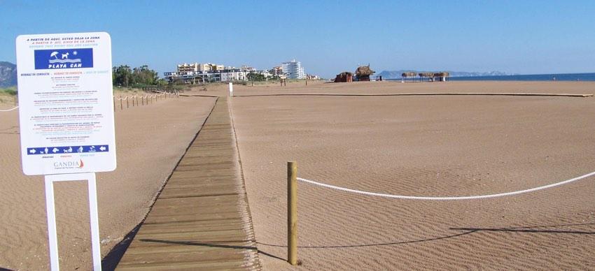 las mejores playas de espana para ir con perros