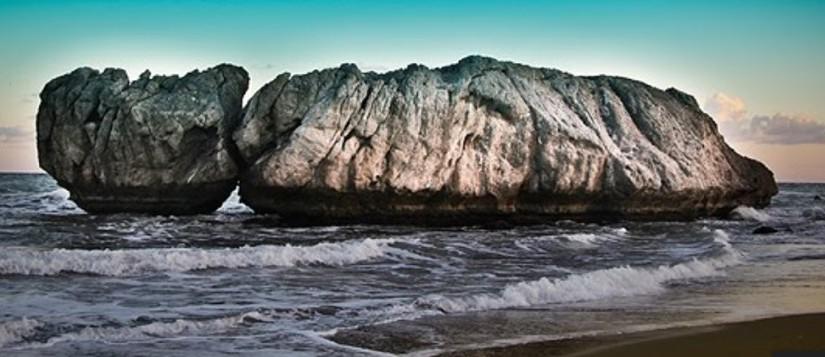 Playa de Piedra Paloma para perros en Casares