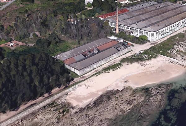 Playa Cunchina para Perros en Cangas, Pontevedra